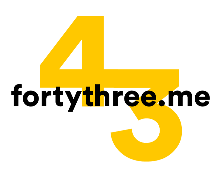 Fortythree.me logo